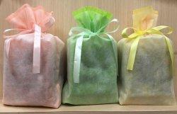 画像1: カジュアルギフトに!分けれる個包装須磨のり・海の宝石5袋 巾着袋入り