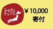 ふるさとチョイスで1万円寄付